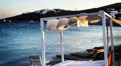 Photo of Seafood Restaurant Kuzina at Ornos Beach, Mykonos, Greece