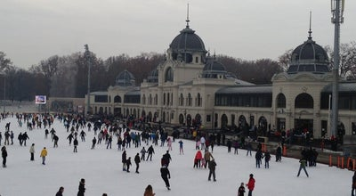 Photo of Tourist Attraction Varosligeti Ice Skating Rink at Olof Palme Sétány 5., Budapest 1146, Hungary