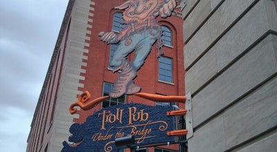 Photo of American Restaurant Troll Pub Under the Bridge at 150 West Washington Street, Louisville, KY 40202, United States