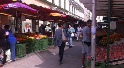 Photo of Tourist Attraction Brunnenmarkt at Brunnengasse, Vienna, Austria
