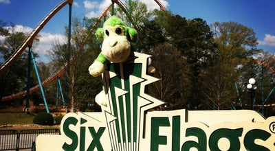 Photo of Theme Park Six Flags Over Georgia at 275 Riverside Pkwy, Austell, GA 30168, United States