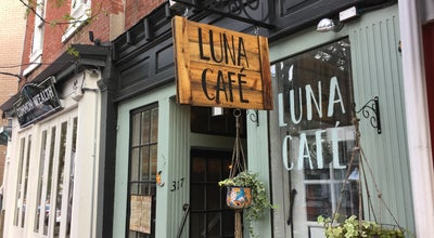 Photo of Restaurant Luna Cafe at 317 Market St, Philadelphia, PA 19106, United States