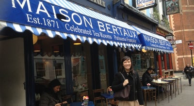 Photo of French Restaurant Maison Bertaux at 28 Greek Street, London W1D 5DQ, United Kingdom