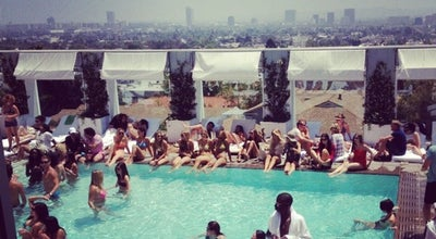 Photo of Hotel Bar Skybar at 8440 W Sunset Blvd, West Hollywood, CA 90069, United States