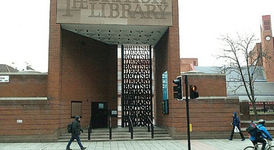 Photo of Library British Library at 96 Euston Rd, St Pancras NW1 2DB, United Kingdom