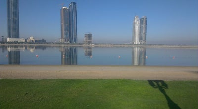 Photo of Beach AlKhan Beach شاطىء الخان at Alkhan, Sharjah, United Arab Emirates