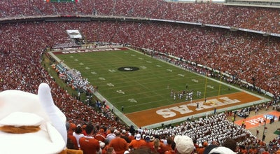Photo of Football Stadium Cotton Bowl at Cotton Bowl Cir., Dallas, TX 75210, United States