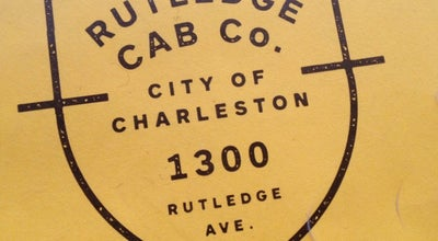 Photo of American Restaurant Rutledge Cab Co. at 1300 Rutledge Ave, Charleston, SC 29403, United States