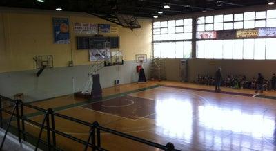 Photo of Basketball Court Κλειστο Γηπεδο Μπασκετ Ζωγραφου at Zografou, Greece