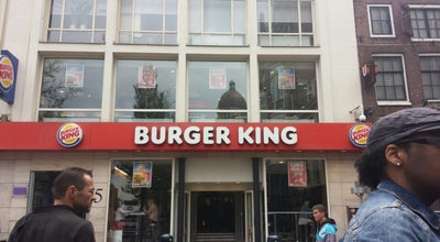 Photo of Fast Food Restaurant Burger King at Leidseplein 7, Amsterdam, Netherlands