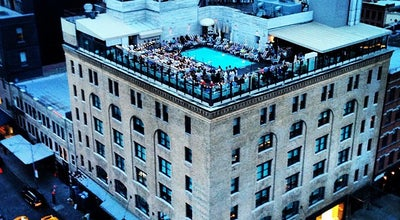 Photo of Hotel Soho House at 29 9th Ave, New York, NY 10014, United States