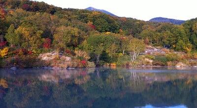 Photo of Lake 地獄沼 at 荒川南荒川山国有林酸湯沢, 青森市, Japan