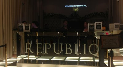 Photo of Nightclub Republiq at 2nd Flr, Newport Mall, Resorts World Manila, Pasay City 1309, Philippines