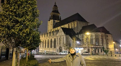 Photo of Church Église Notre-Dame de la Chapelle / Onze Lieve Vrouw Ter Kapellekerk at Place De La Chapelle / Kapellemarkt, Brussels 1000, Belgium