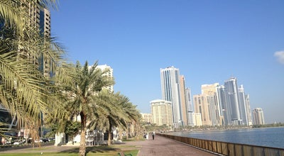 Photo of Beach Buhairah Corniche at Corniche Street, Sharjah, United Arab Emirates