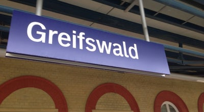 Photo of Train Station Bahnhof Greifswald at Bahnhofstr. 43, Greifswald 17489, Germany