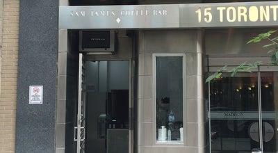 Photo of Coffee Shop Sam James Coffee Bar (SJCB) at 15 Toronto Street, Toronto, Canada
