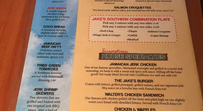 Photo of Southern / Soul Food Restaurant Jake's Southern and Caribbean at 3569 Pelham Pkwy, Pelham, AL 35124, United States