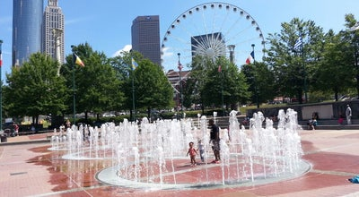 Photo of Plaza Fountain of Rings at Centennial Olympic Park, Atlanta, GA 30313, United States