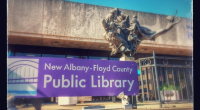 Photo of Library New Albany-Floyd County Public Library at 180 W Spring St, New Albany, IN 47150, United States