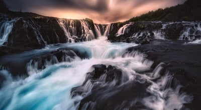 Photo of Outdoors and Recreation Bruarfoss at Iceland