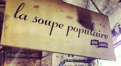 Photo of German Restaurant La Soupe Populaire at Prenzlauer Allee 242, Berlin 10405, Germany