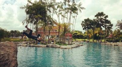 Photo of Theme Park Swimming pool Kukup Golf Resort at Malaysia