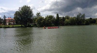 Photo of Lake Csónakház - Csótó Sziget at Szombathely, Hungary