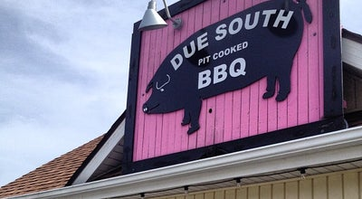 Photo of American Restaurant Due South Pit Cooked BBQ at 1465 Roanoke St, Christiansburg, VA 24073, United States