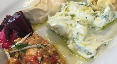 Photo of Mediterranean Restaurant The Greek Larder at 1 York Way, London N1C 4AS, United Kingdom