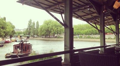 Photo of Beer Garden Le Bateau Lavoir at 9 Quai Ceineray, Nantes 44000, France