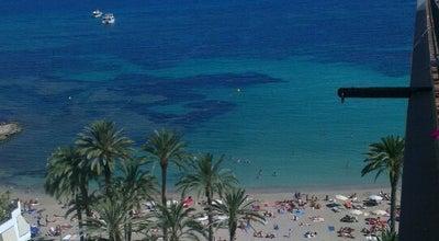 Photo of Beach Platja de Figueretes at P. De Las Pitiusas, Eivissa 07800, Spain