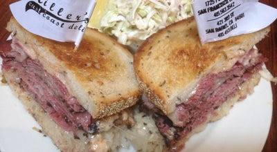 Photo of American Restaurant Miller's East Coast Deli at 1725 Polk St, San Francisco, CA 94109, United States