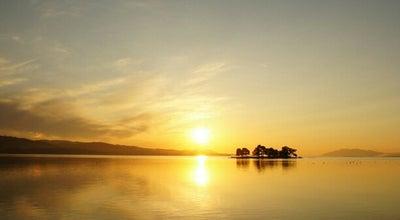 Photo of Water Park 宍道湖夕日スポット とるぱ at 袖師町, 松江市, Japan
