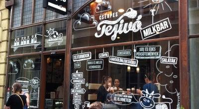Photo of Cafe Cserpes Tejivo at Sueto Utca 2, Budapest 1052, Hungary