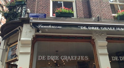 Photo of American Restaurant De Drie Graefjes at Eggertstraat 1, Amsterdam 1012 NN, Netherlands