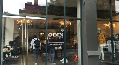 Photo of Clothing Store Odin at 199 Lafayette St, New York, NY 10012