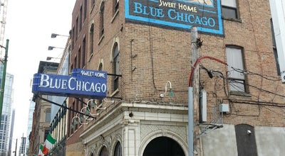 Photo of American Restaurant Blue Chicago at 536 N Clark St, Chicago, IL 60654, United States
