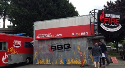 Photo of BBQ Joint Gabriel's Fire at 5803 244th St Sw, Mountlake Terrace, WA 98043, United States