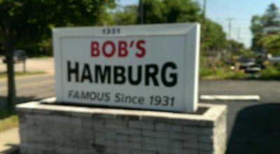 Photo of Diner Bob's Hamburg at 1351 East Ave, Akron, OH 44307, United States