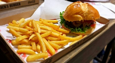 Photo of American Restaurant Jack's burger at Hercegprimas Utca 4, Budapest 1051, Hungary