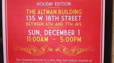 Photo of Flea Market Chelsea Bazaar at 135 W 18th St, New York, NY 10011, United States