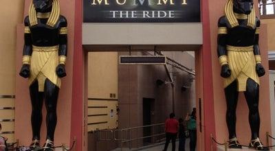 Photo of Theme Park Revenge of the Mummy - The Ride at 100 Universal City Plz, Universal City, CA 91608, United States