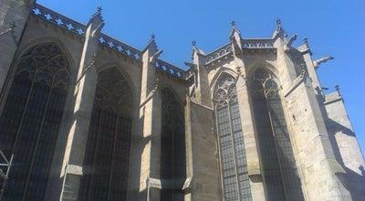 Photo of Tourist Attraction Basilica of Saint-Nazaire at La Cité, Carcassonne 11000, France