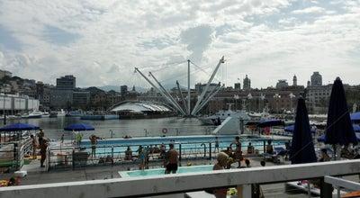 Photo of Water Park Piscina Porto Antico at Porto Antico, Genova, Italy