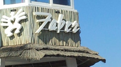 Photo of Restaurant Faber Beach at Lungomare Paolo Toscanelli 199, Lido di Ostia 00121, Italy