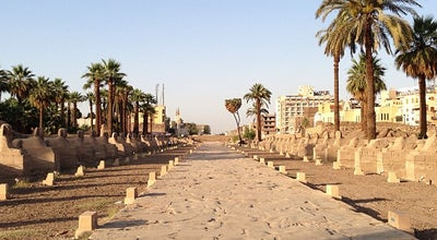Photo of Monument / Landmark Avenue of Sphinxes at Between The Karnak And Luxor Temples, Luxor, Egypt
