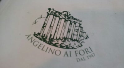 Photo of Italian Restaurant Angelino ai Fori dal 1947 at Largo Corrado Ricci, 40, Rome 00184, Italy