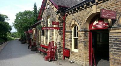 Photo of Train Station Haworth Railway Station (KWVR) at Station Rd., Haworth BD22 8NJ, United Kingdom