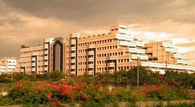 Photo of College Engineering Building Technology Tower at Vit University, Vellore 632014, India